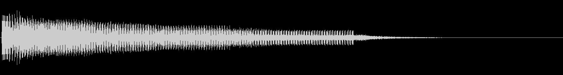 ゲームオーバー(ホラー)の未再生の波形