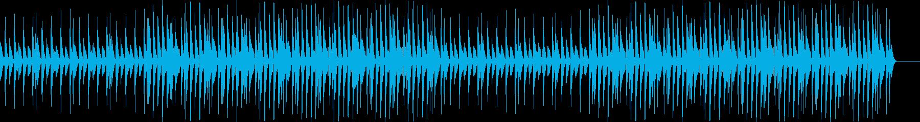 オープニング・楽しい・ウクレレ・WEBの再生済みの波形