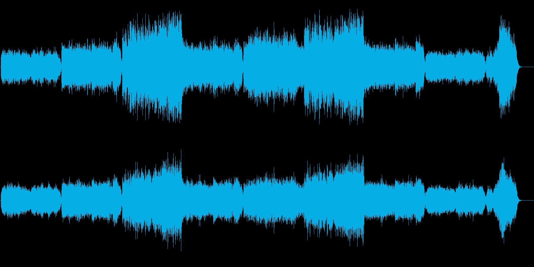 ニンフォマニアックなアンビエントタイトルの再生済みの波形