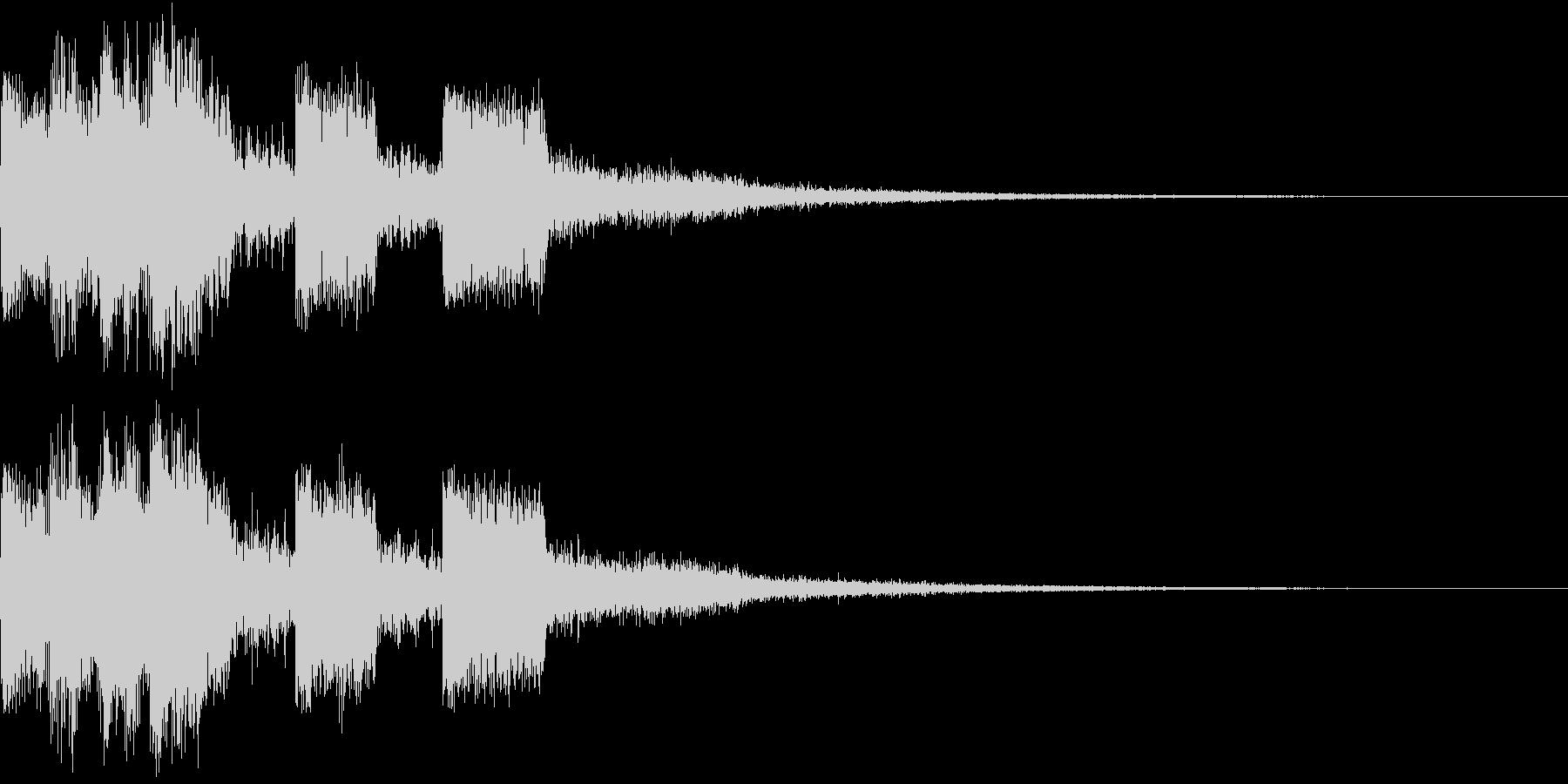 ピコピコ キュルルン ジャンプ Bの未再生の波形