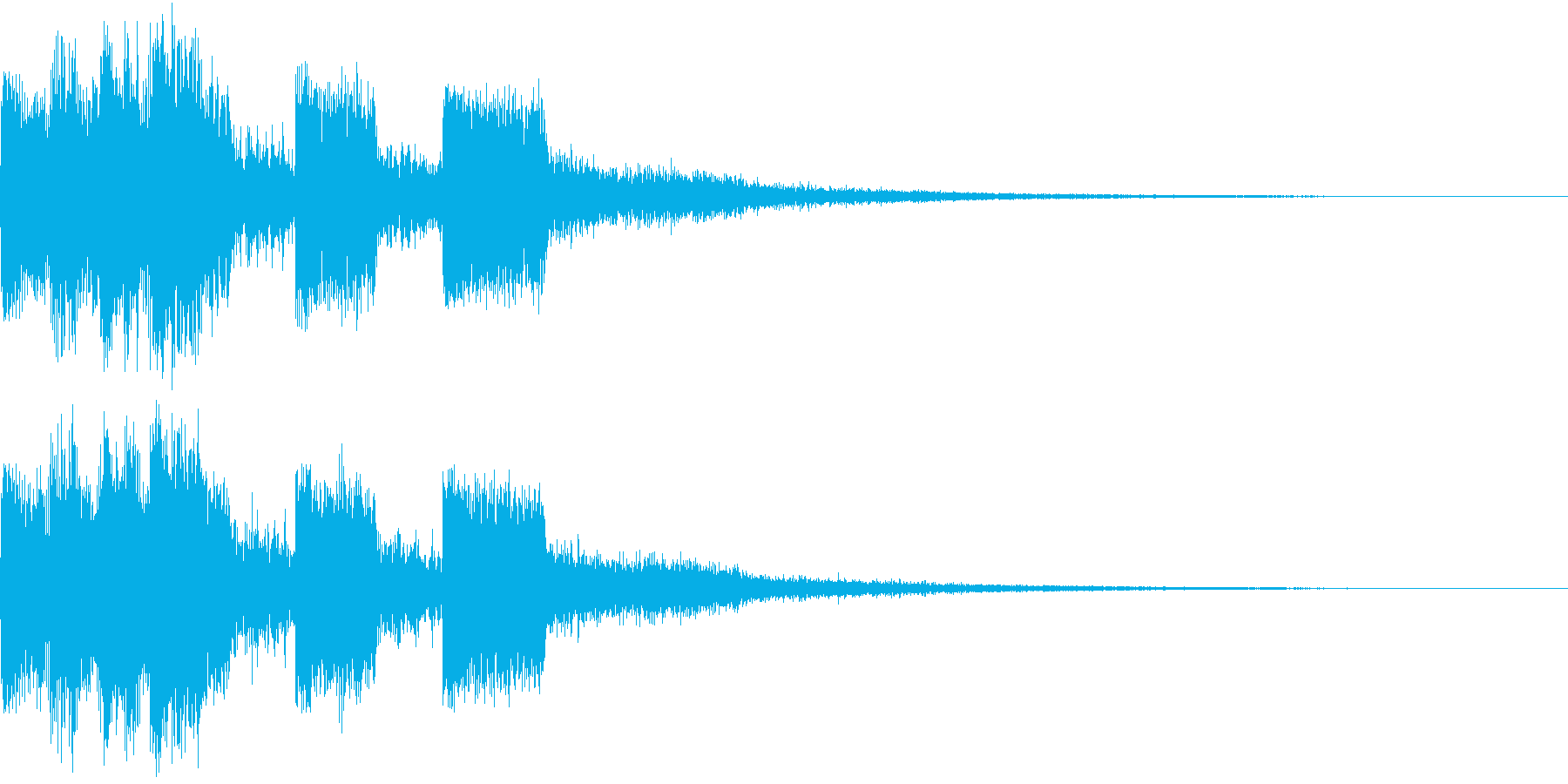 ピコピコ キュルルン ジャンプ Bの再生済みの波形