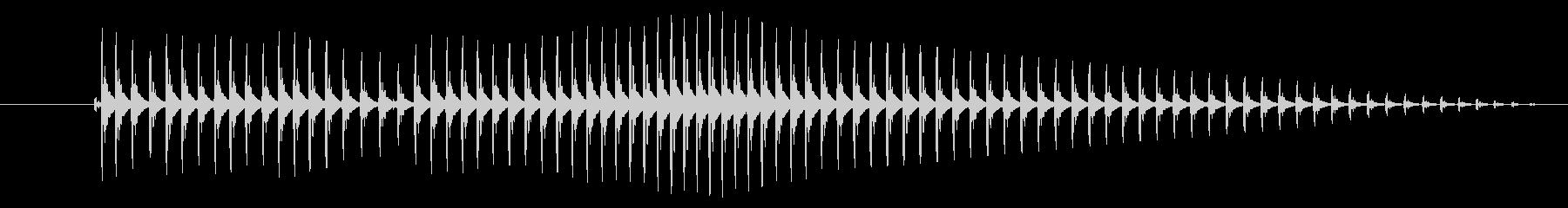 空腹02-4の未再生の波形