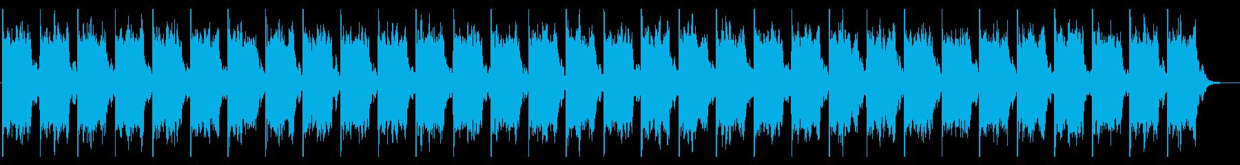コソコソしている様子のエレクトロニックの再生済みの波形
