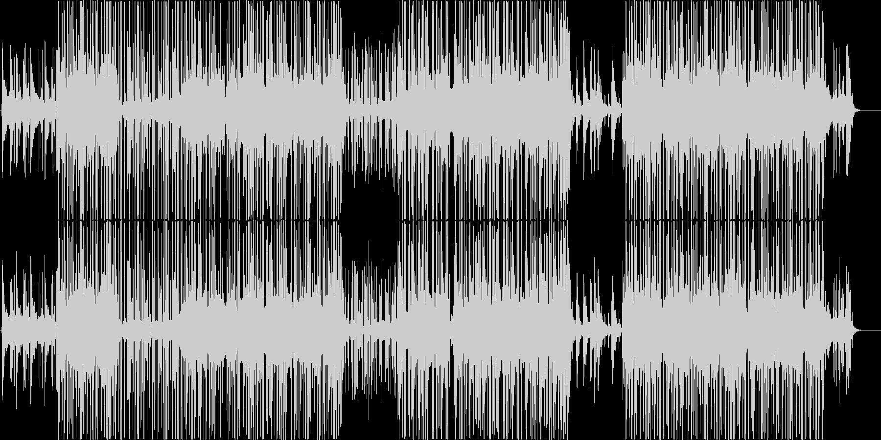 和風、ローファイ、チルアウト♪の未再生の波形