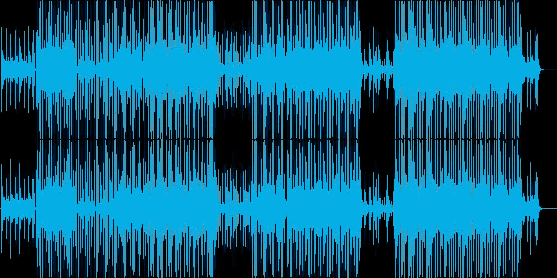 和風、ローファイ、チルアウト♪の再生済みの波形