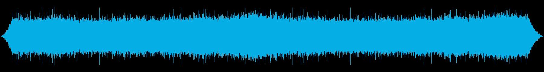 コンクリートの豪雨の再生済みの波形