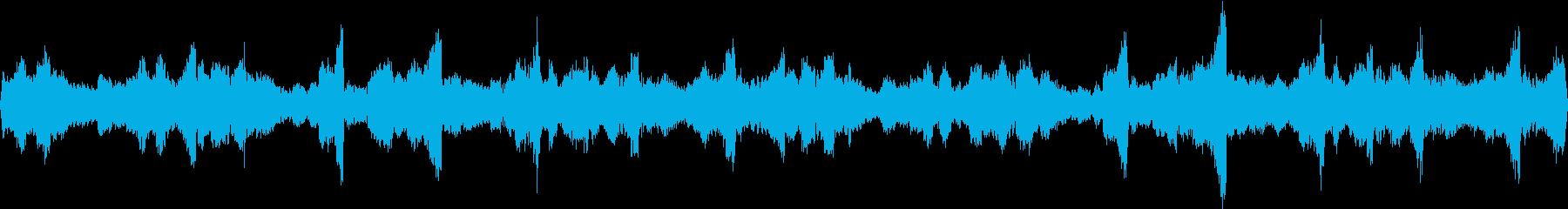 チル系エレクトロBGM02の再生済みの波形