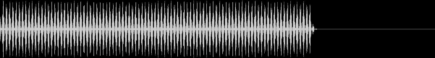 リールの回転音(映写機)3の未再生の波形
