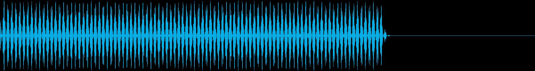 リールの回転音(映写機)3の再生済みの波形