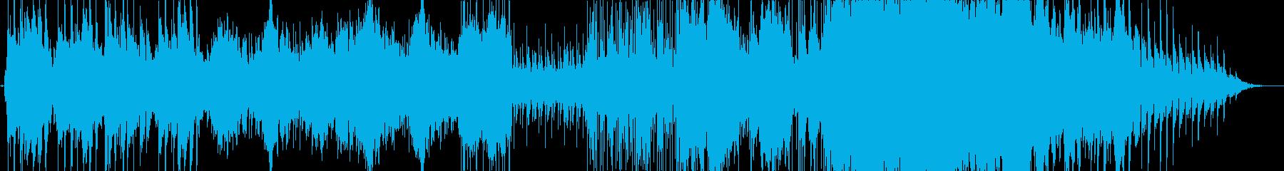 Searchingの再生済みの波形