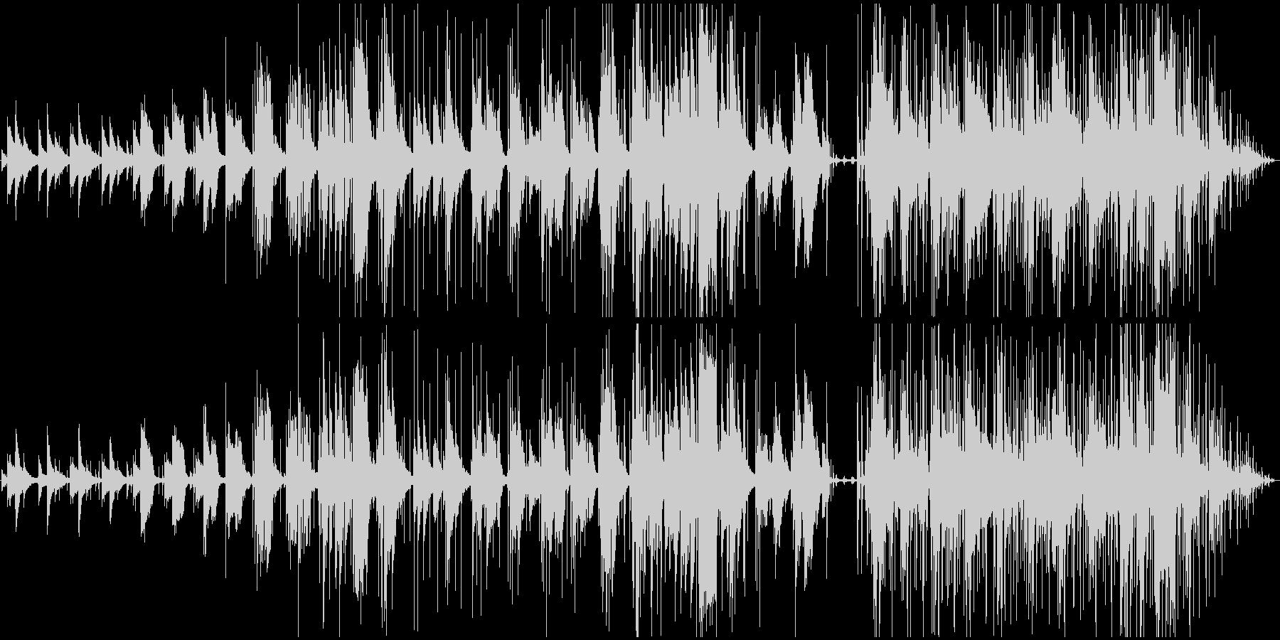ポップロックバラードは、ピアノ、ボ...の未再生の波形