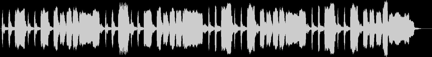 ほのぼのした場面などに使える短い曲の未再生の波形