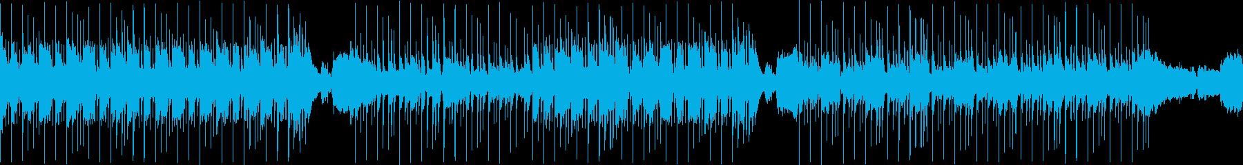 陽気なアメリカン風ロックの再生済みの波形