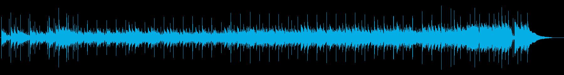 切ないピアノが奏でるセレナーデのワルツの再生済みの波形