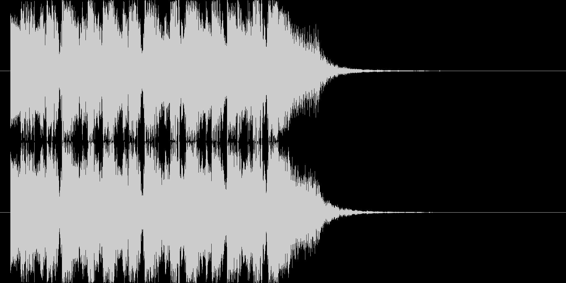 エレクトでダンサンブルなジングル2の未再生の波形