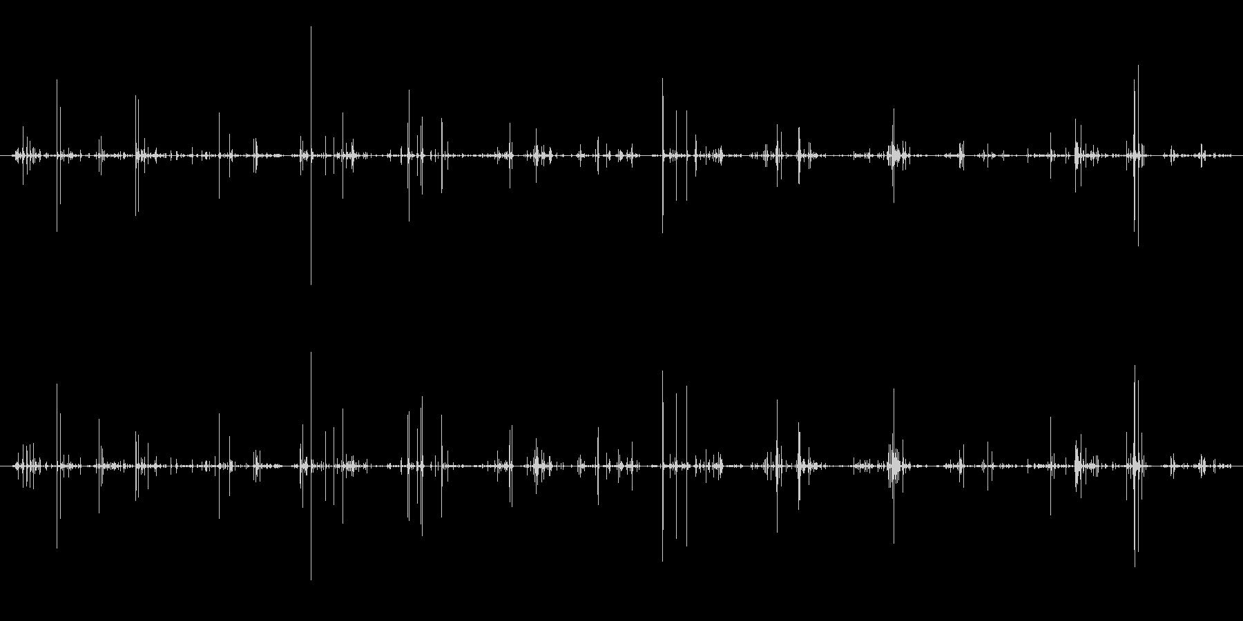 木 竹割れシーケンス01の未再生の波形