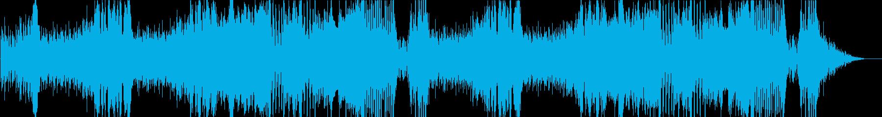 オーケストラ戦闘曲 ドラム入りの再生済みの波形