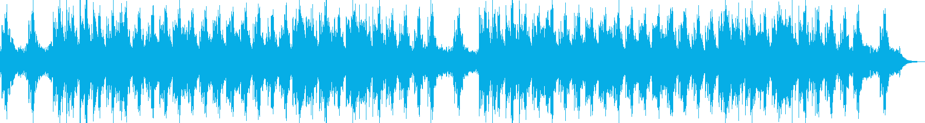 ヒーリング 癒やし ピアノ ハープの再生済みの波形