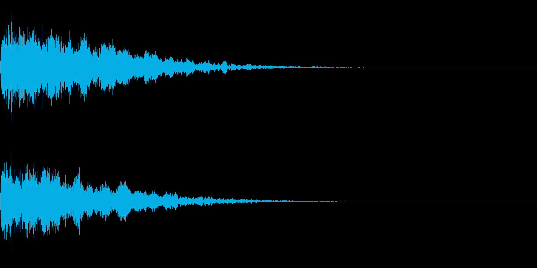 ア〜ン(女性のセクシーな声)の再生済みの波形
