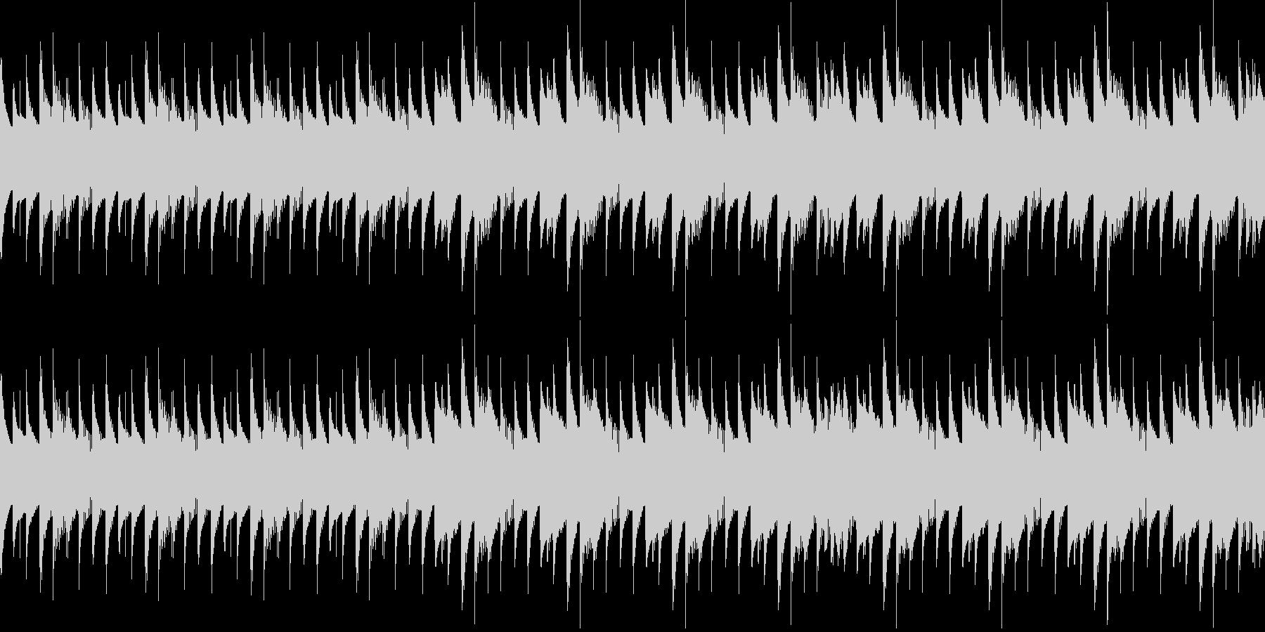 ダンジョン、ミステリアス不思議な空間の未再生の波形