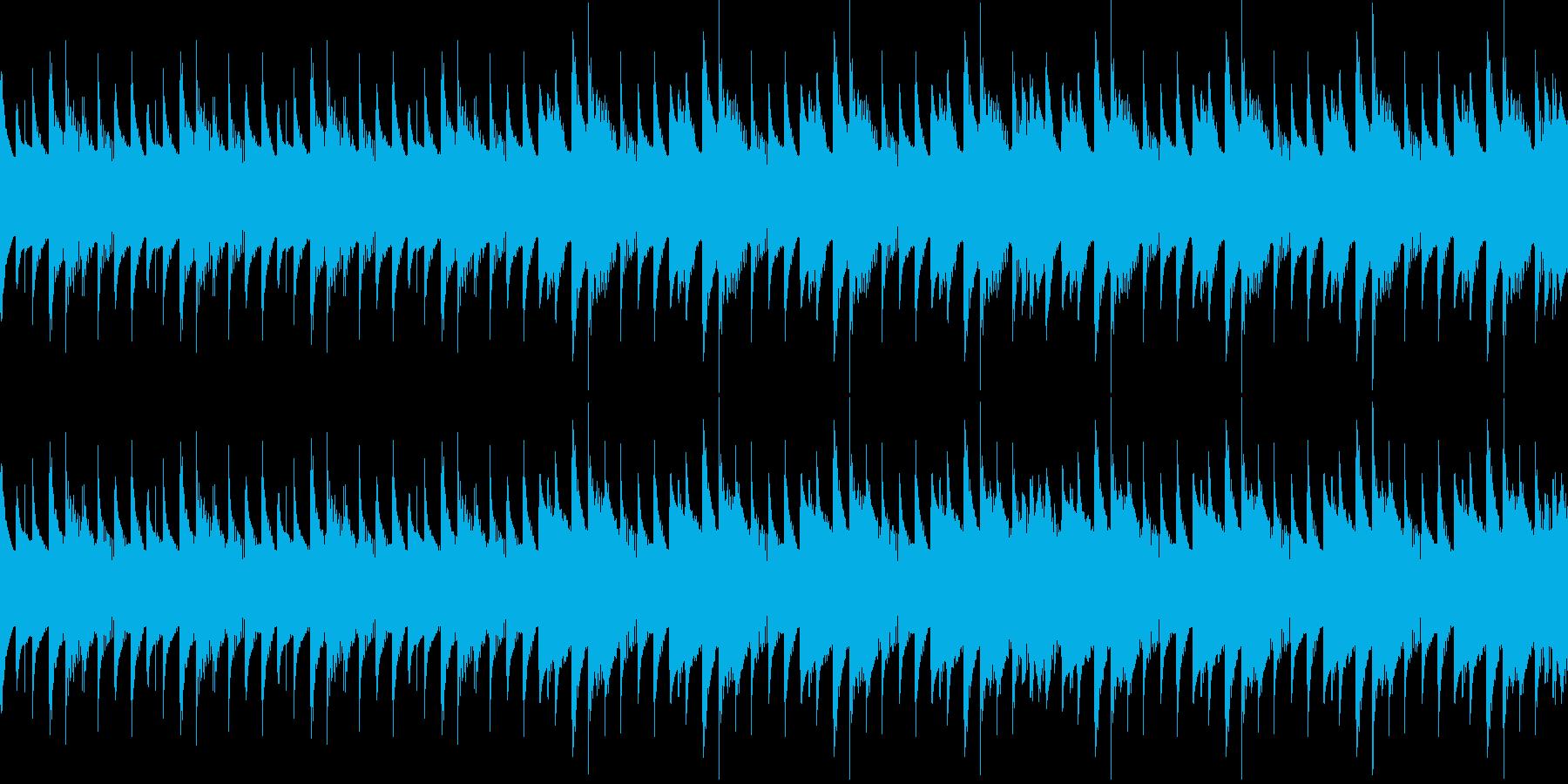 ダンジョン、ミステリアス不思議な空間の再生済みの波形
