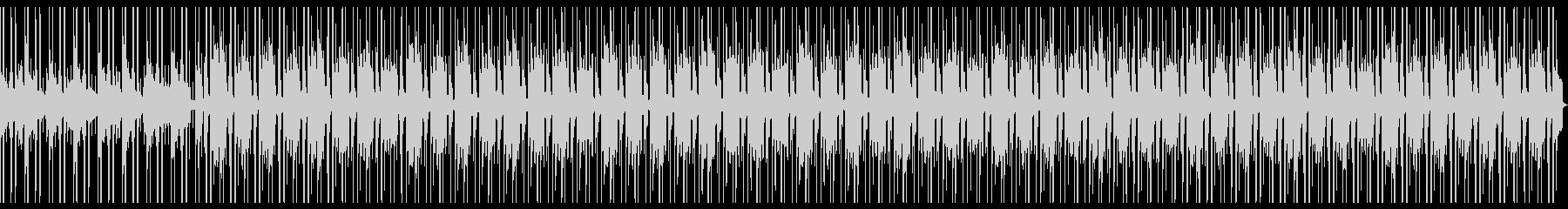 Lofiピアノの悲しいメロディーBGMの未再生の波形