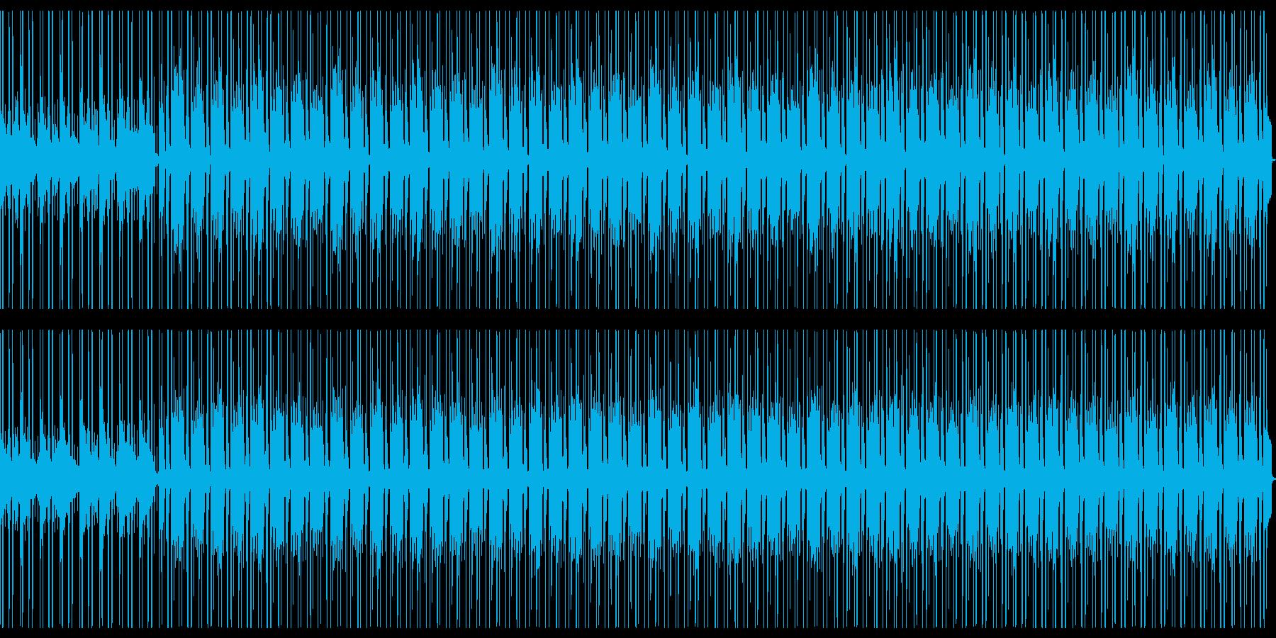 Lofiピアノの悲しいメロディーBGMの再生済みの波形