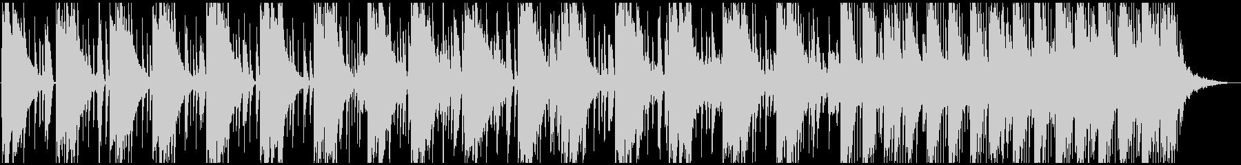 アンビエントっぽいチルなエレクトロニカの未再生の波形