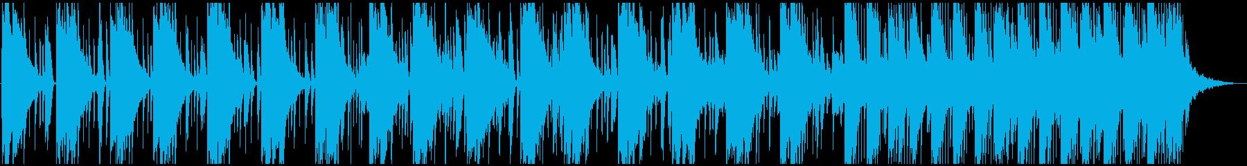 アンビエントっぽいチルなエレクトロニカの再生済みの波形