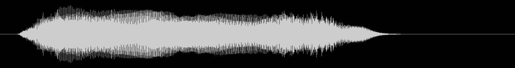 宇宙や近未来感の音(ワープ、マシーン)の未再生の波形