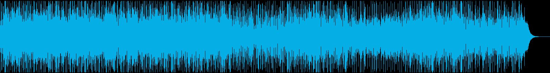 煌めく星のようなエレクトロブレイクビーツの再生済みの波形