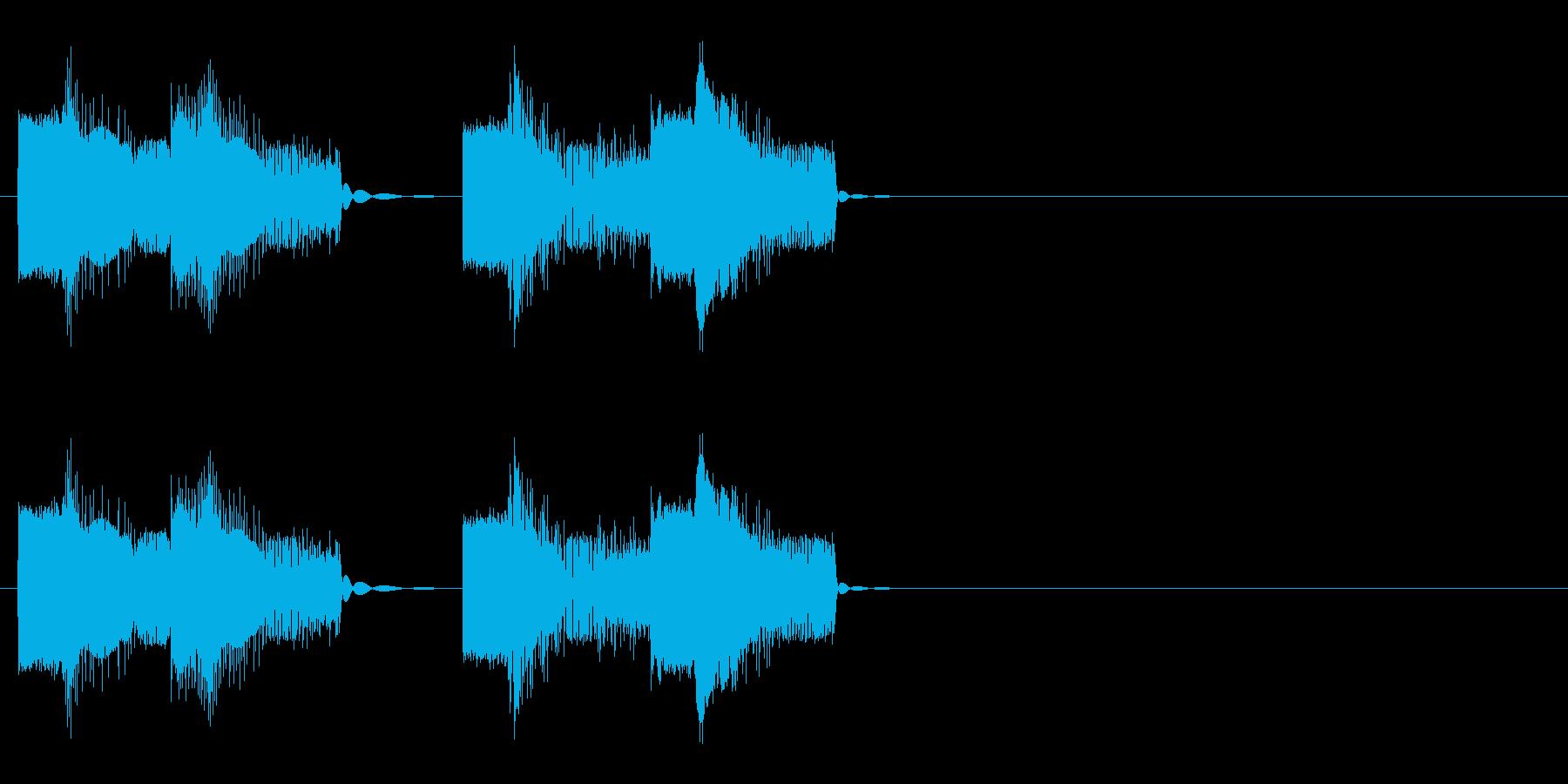 ロボットの音声 2の再生済みの波形