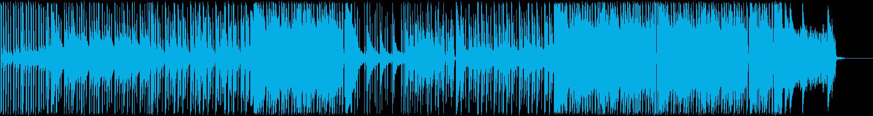 近未来、都会、Future Bassの再生済みの波形