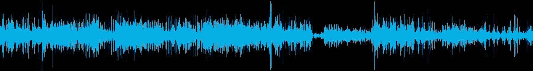 トリップタンブルとリップの再生済みの波形