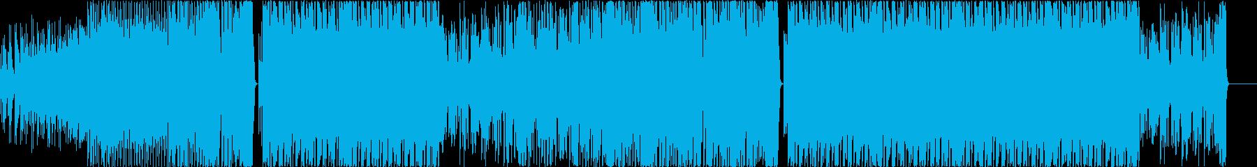 EDM系マシュメロ風スタイリッシな曲-9の再生済みの波形