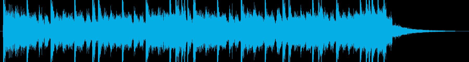 ヒップヒップトラップインストゥルメ...の再生済みの波形