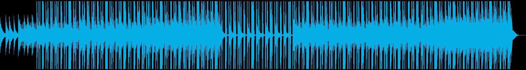 halloween beatの再生済みの波形