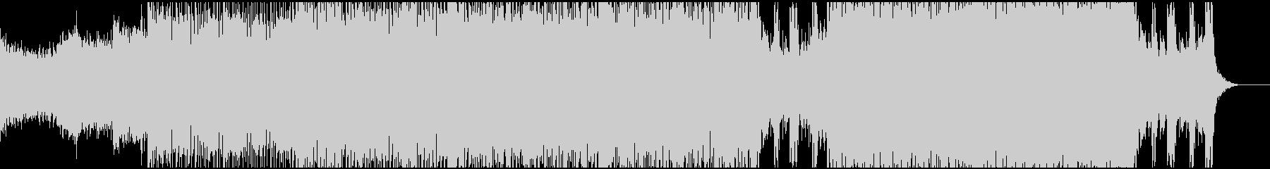 ダークでスピード感あるドラムンベースの未再生の波形
