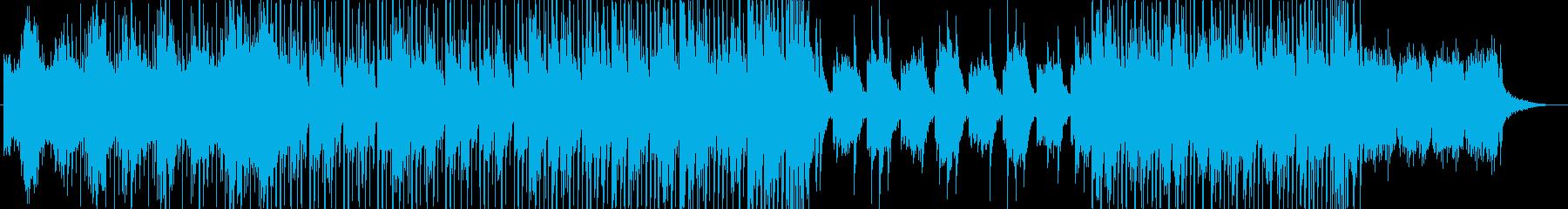 可愛らしいFuture Bass風の再生済みの波形