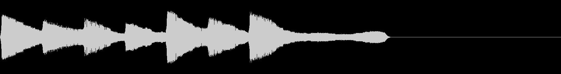 チャララララ(回復クリア/ファミコン#2の未再生の波形