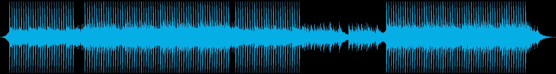 刺激的なアップビートの再生済みの波形