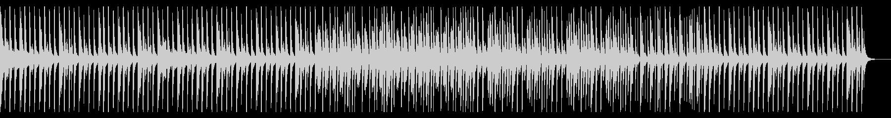 原始時代的なイメージのBGMの未再生の波形