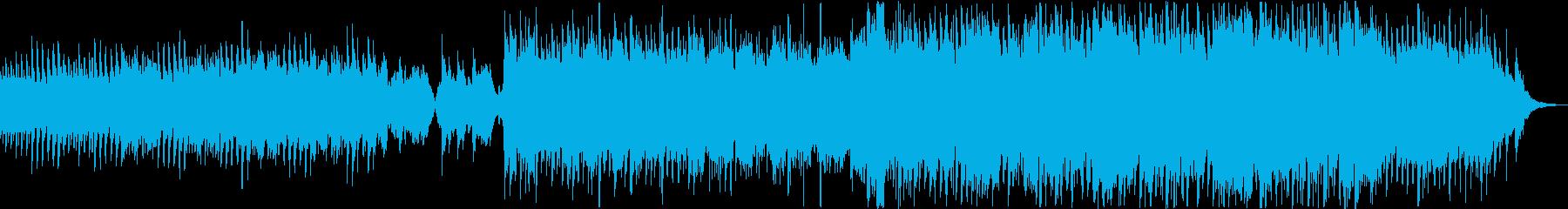 力強い尺八/和風の壮大重厚な曲 の再生済みの波形