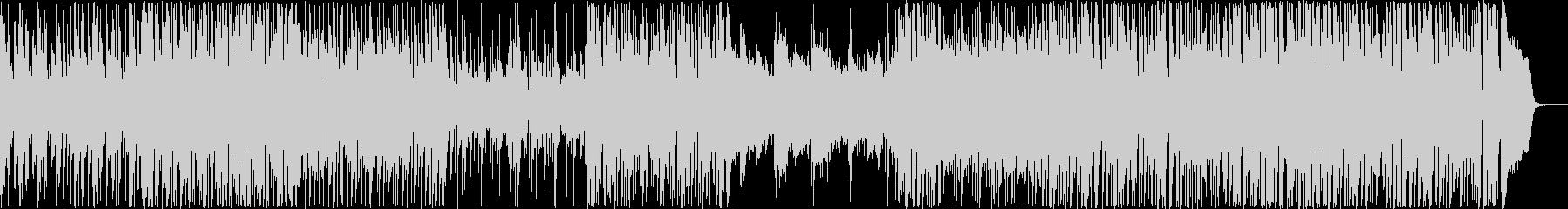 BGM_ライフワークの未再生の波形