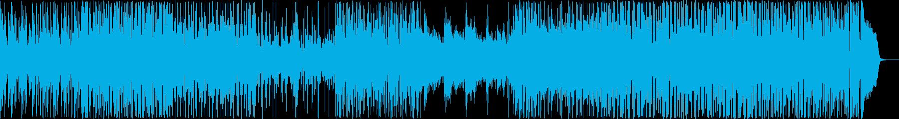 BGM_ライフワークの再生済みの波形