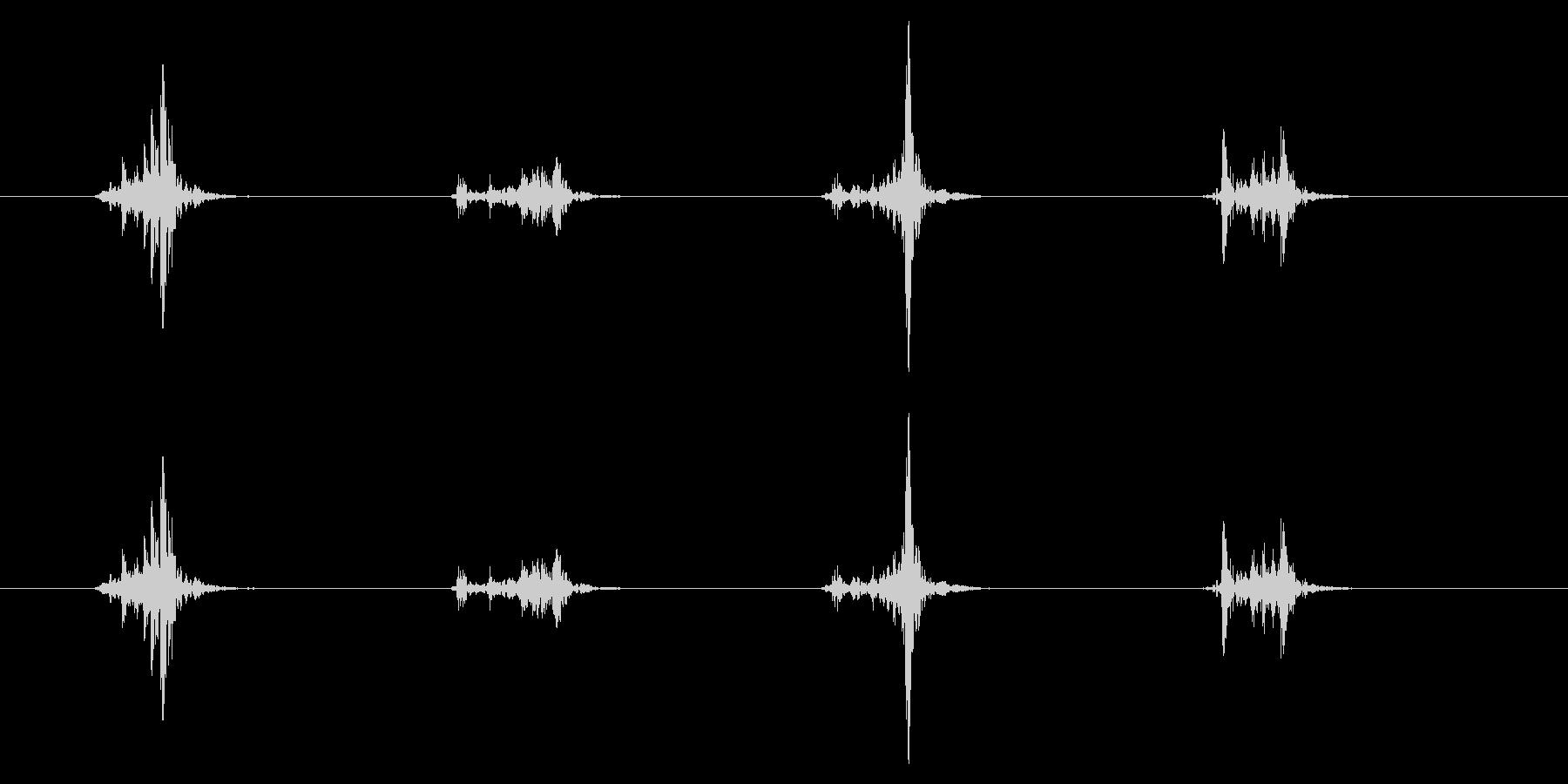 PC マウス04-22(スクロール 速)の未再生の波形