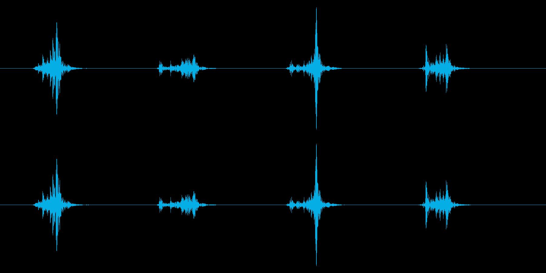 PC マウス04-22(スクロール 速)の再生済みの波形