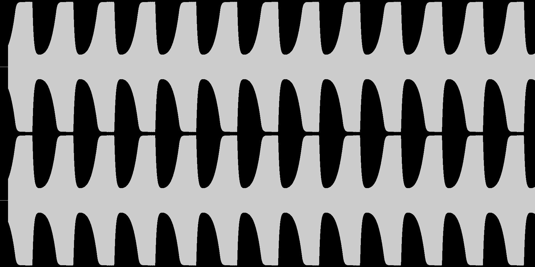 ゲームテキスト効果音A-1(普通)の未再生の波形