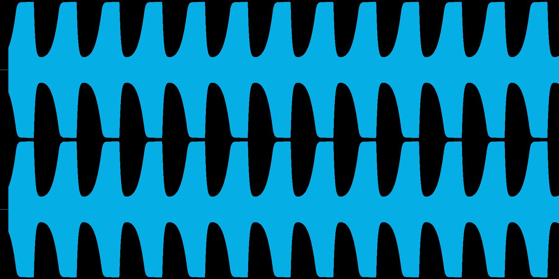 ゲームテキスト効果音A-1(普通)の再生済みの波形