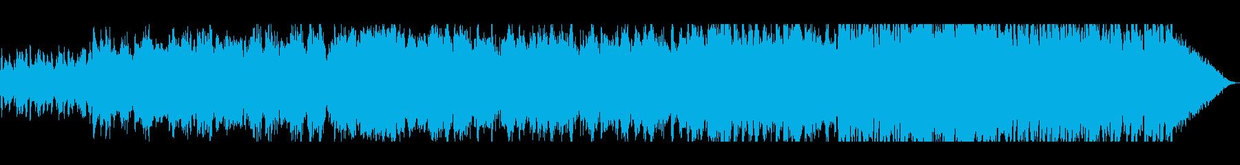 ビオラによる疾走感のあるプレリュードの再生済みの波形